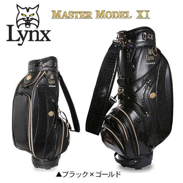 Lynx Golf Master Model Premium Gold Xi Cart Cad Bag
