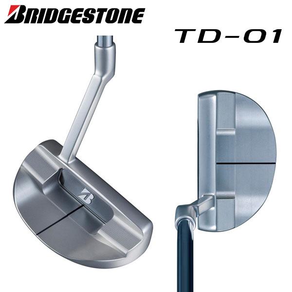 ブリヂストン ゴルフ TD-01 パター オリジナルスチールシャフト BRIDGESTONE マレット ロングスラントネック【ブリチストン】【ゴルフ】【TD-01】【パター】【オリジナルシャフト(スチール)】【BRIDGESTONE】
