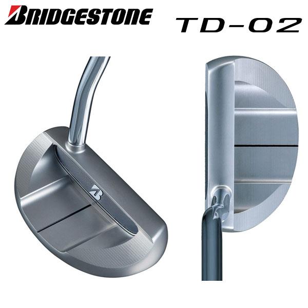 ブリヂストン ゴルフ TD-02 パター オリジナルスチールシャフト BRIDGESTONE マレット ベント【ブリヂストン】【ゴルフ】【TD-02】【パター】【オリジナルスチールシャフト】【BRIDGESTONE】