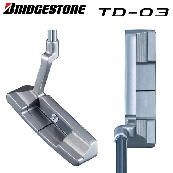 ブリヂストン ゴルフ TD-03 パター オリジナルスチールシャフト BRIDGESTONE ピンタイプ クランクネック【ブリヂストン】【ゴルフ】【TD-03】【パター】【オリジナルスチールシャフト】【BRIDGESTONE】