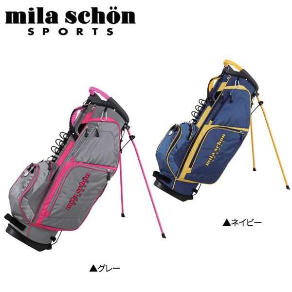 ミラショーン ゴルフ MSC001 キャディバッグ mila schon【ミラショーン】【ゴルフ】【MSC001】【キャディバッグ】【mila】【schon】