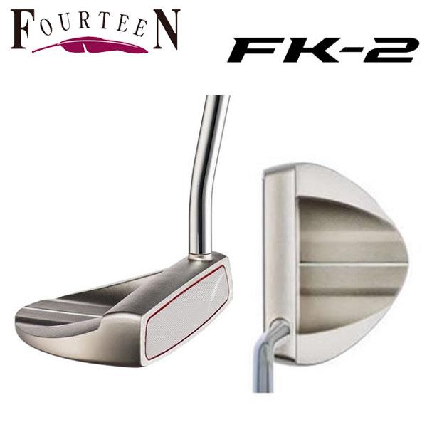 フォーティーン ゴルフ FK-2 パター 34.5インチ FOURTEEN【フォーティーン】【ゴルフ】【FK-2】【ダブルベントシャフトネック】【パター】【オリジナルスチールシャフト】