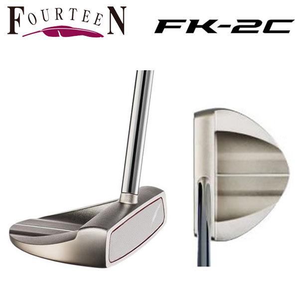 フォーティーン ゴルフ FK-2C パター センターシャフト FOURTEEN【フォーティーン】【ゴルフ】【FK-2C】【パター】【センターシャフト】【FOURTEEN】