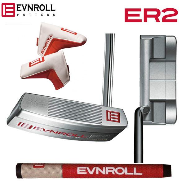 イーブンロール ゴルフ ER2 ミッドブレード パター EVNROLL ER-2 Mid Blade【イーブンロールゴルフ】【パター】