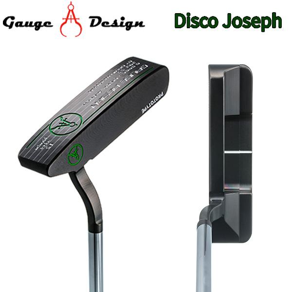 ゲージデザイン ディスコ ジョセフ ブラック パター BLACK GAUGE DESIGN Disco Joseph【ゲージデザイン】【パター】