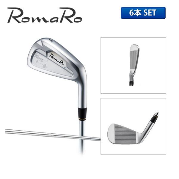 ロマロ レイ CX アイアンセット 6本組 (5-P) ダイナミックゴールド スチールシャフト Ray CX Romaro Golf【ロマロ】【アイアンセット】