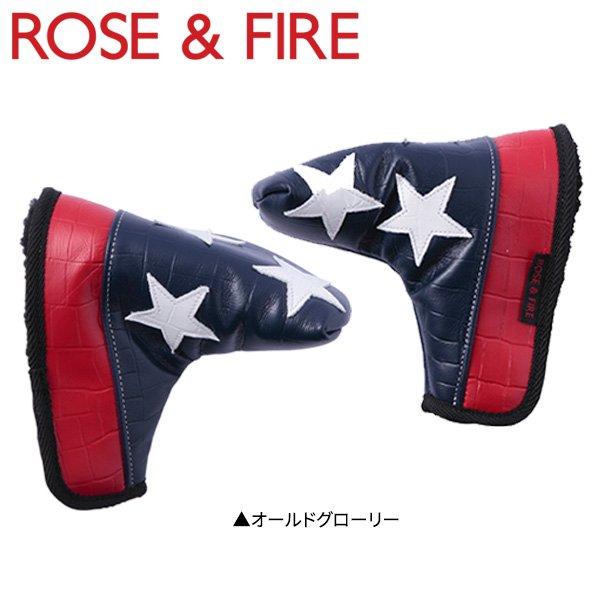 ローズ&ファイア OLD GLORY RFP011 パター用 ヘッドカバー オールドグローリー ROSE&FIRE US星条旗【ローズ&ファイア】【ヘッドカバー】