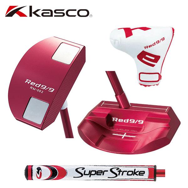キャスコ ゴルフ RED9/9 RM-002 マレットタイプ パター Kasco アカパタ 赤パタ【キャスコ】【パター】