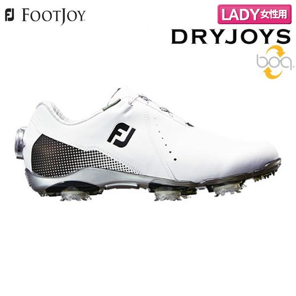【レディース】 フットジョイ ドライ ジョイズ ボア 99071 ゴルフシューズ ホワイト×ブラック FOOTJOY DRYJOY Boa【フットジョイ】【ゴルフシューズ】