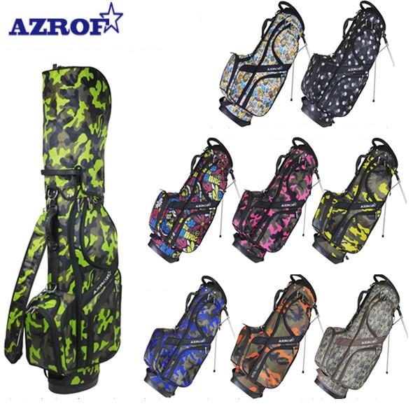 アズロフ ゴルフ AZ-STCB01 スタンド キャディバッグ AZROF ゴルフバッグ【アズロフ】【キャディバッグ】