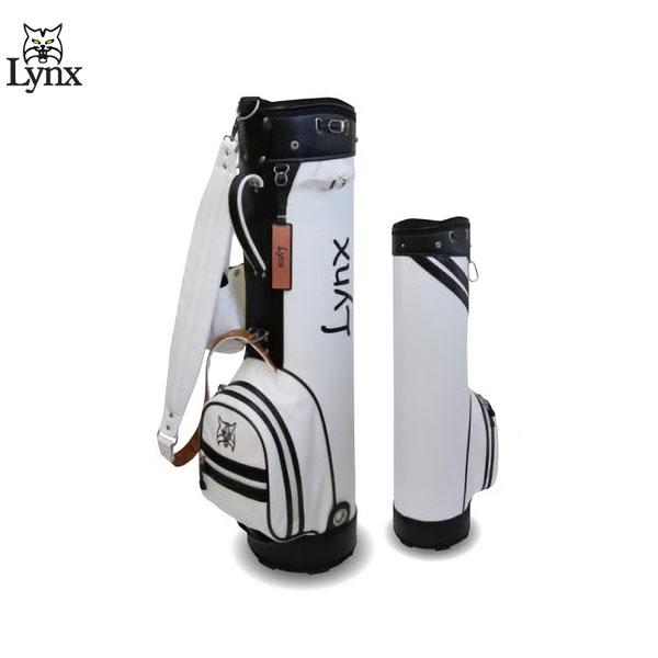 【送料無料】 リンクス ゴルフ クラシックバッグ LXCB-1000 スリム カート キャディバッグ ホワイト×ブラック Lynx ゴルフバッグ CLASSIC LXCB1000【リンクス】【キャディバッグ】
