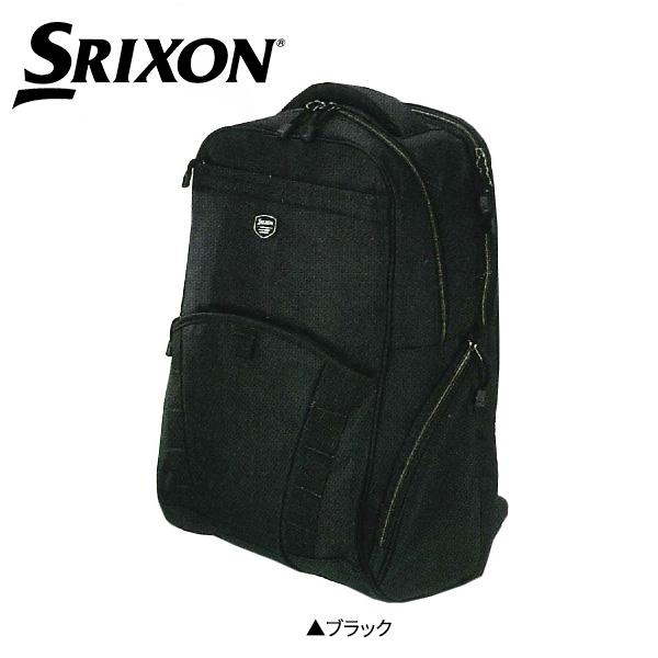 ダンロップ ゴルフ スリクソン GGF-B0012 バックパック ブラック DUNLOP SRIXON【ダンロップ】【バックパック】