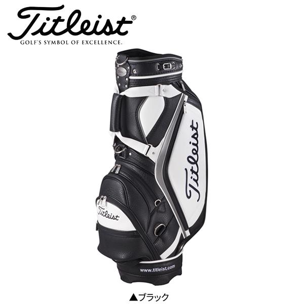 タイトリスト ゴルフ クラシック スポーツ CB823 カート キャディバッグ ブラック Titleist Classical Sports ゴルフバッグ【タイトリスト】【キャディバッグ】
