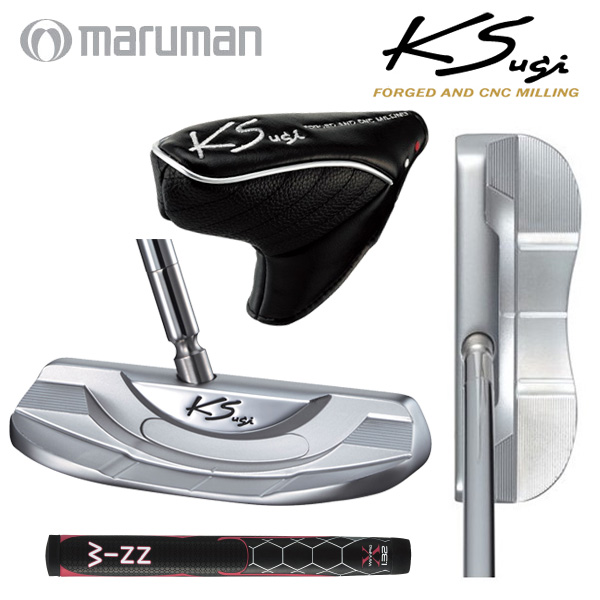マルマン ゴルフ KS-172PW Bワイド型 パター MARUMAN【マルマン】【パター】