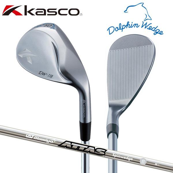 【受注生産】 キャスコ ゴルフ ドルフィン DW-118 ウェッジ アッタス スピンウェッジ IP 125 カーボンシャフト Kasco Dolphin DW118【キャスコ】【ウェッジ】
