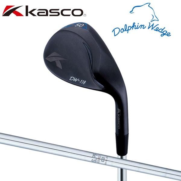 キャスコ ゴルフ ドルフィン DW-118B ブラック ウェッジ NSプロ 950GH スチールシャフト KASCO DOLPHIN DW118B【ドルフィンウェッジ】