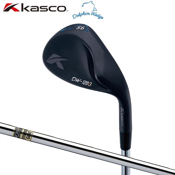 【受注生産】 キャスコ ゴルフ DW-120G ドルフィン ブラック ウェッジ ダイナミックゴールド スチールシャフト Kasco Dolphin【キャスコ】【ウェッジ】