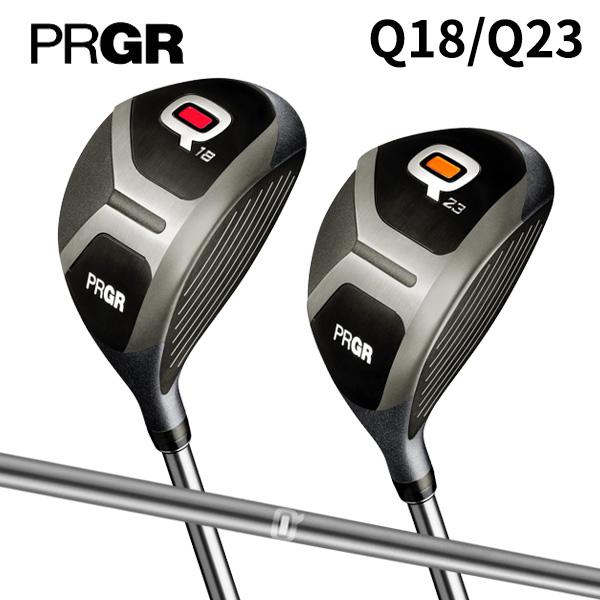 プロギア ゴルフ Q キュー Q18/Q23 フェアウェイウッド Qオリジナル カーボンシャフト PRGR【Qフェアウェイウッド】