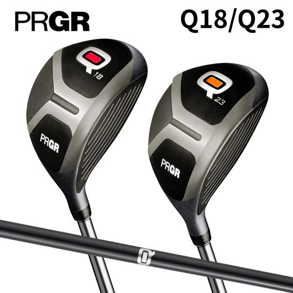 【限定スペック】 プロギア ゴルフ Q キュー Q23 フェアウェイウッド Qオリジナル カーボンシャフト PRGR【Qフェアウェイウッド】