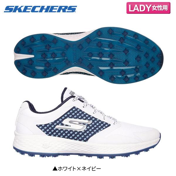 1c4c3c9bd0dd スケッチャーズゴルフゴーゴルフイーグルリード 14864 spikesless golf shoes white X navy SKECHERS GO GOLF  Eagle LEAD