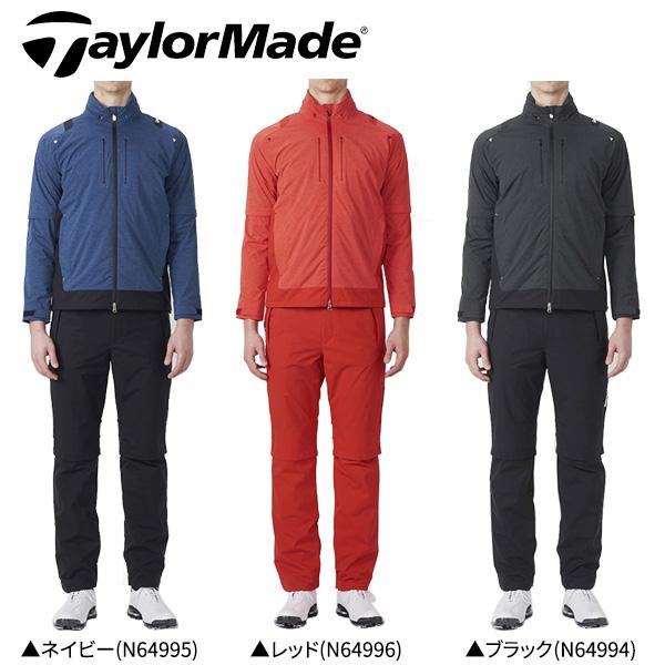 【在庫一掃】 テーラーメイド ゴルフ レインスーツ 上下セット KL927 レインウェア TaylorMade【レインウェア上下セット】