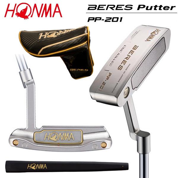 ホンマ ゴルフ ベレス PP-201 光沢ニッケルプラチナ色仕上げ パター HONMA BERES PP201【ホンマ】【ベレスパター】