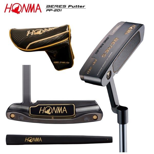 ホンマ ゴルフ ベレス PP-201 光沢ニッケル黒染め仕上げ パター HONMA BERES PP201【ホンマ】【ベレスパター】