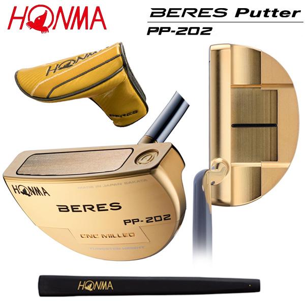 ホンマ ゴルフ ベレス PP-202 金メッキ仕上げ パター HONMA BERES PP202【ホンマ】【ベレスパター】