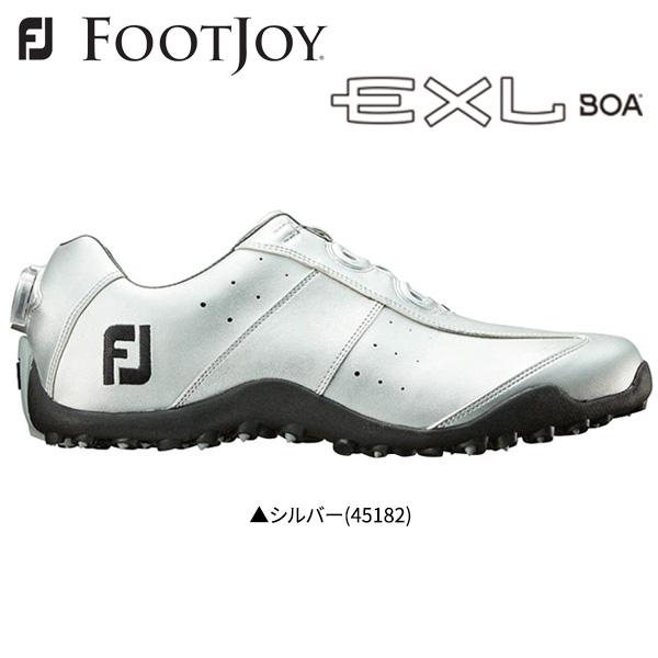 フットジョイ ゴルフ EXL スパイクレス ボア 45182 ゴルフシューズ FOOTJOY EXL Spikeless Boa【フットジョイ】【ゴルフシューズ】