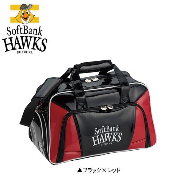 プロ野球 ゴルフ 福岡ソフトバンクホークス SBBB-7577 ボストンバッグ プロ野球オフィシャルゴルフグッズ SoftBank HAWKS【レザックス】【ボストンバッグ】