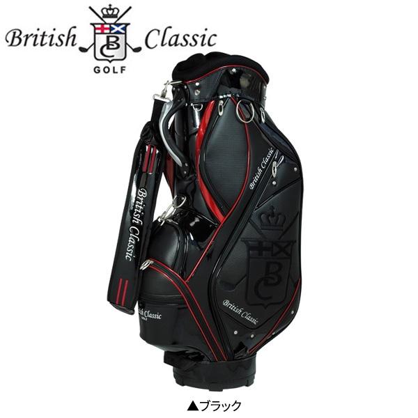 ブリティッシュ クラシック ゴルフ BCCB-7288 カート キャディバッグ ブラック British Classic ゴルフバッグ【ブリティッシュ クラシック】【キャディバッグ】