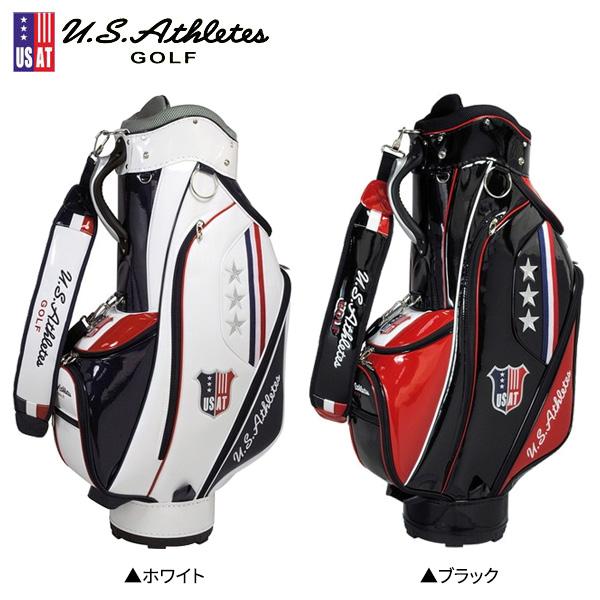 USアスリート ゴルフ USCB-7282 カート キャディバッグ USAthletes ゴルフバッグ【USアスリート】【キャディバッグ】