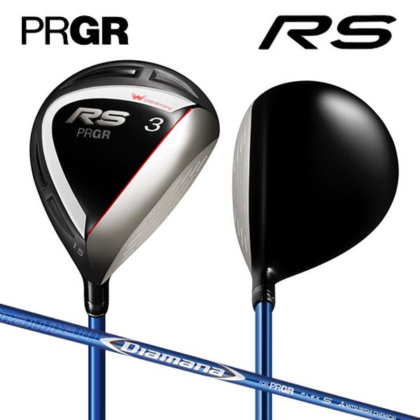 プロギア ゴルフ 新RS フェアウェイウッド ディアマナ for PRGR カーボンシャフト PRGR Diamana【新RSフェアウェイウッド】