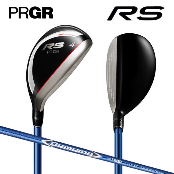 プロギア ゴルフ 新RS ユーティリティー ディアマナ for PRGR カーボンシャフト PRGR Diamana【新RSユーティリティー】