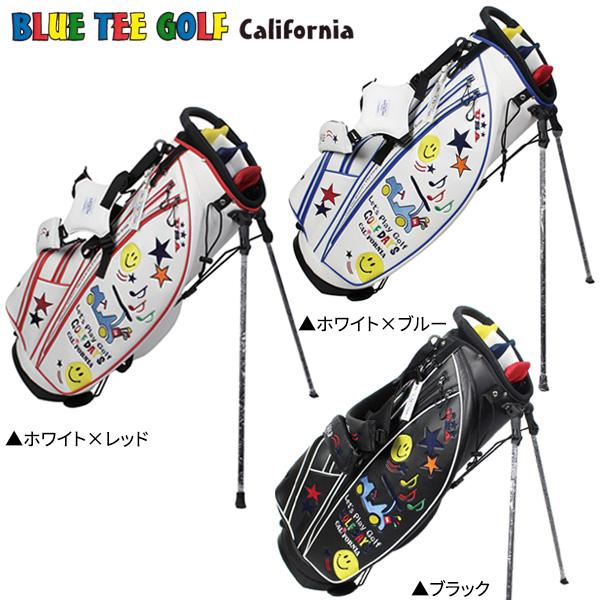 ブルーティーゴルフ スマイル&カート CB-008 スタンド キャディバッグ BlueTee Golf ゴルフバッグ【ブルーティーゴルフ】【キャディバッグ】
