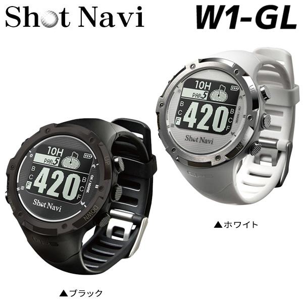 ショットナビ ゴルフ W1-GL 腕時計型 GPSナビ Shot Navi ゴルフナビ 距離測定器【ショットナビ】【腕時計型】