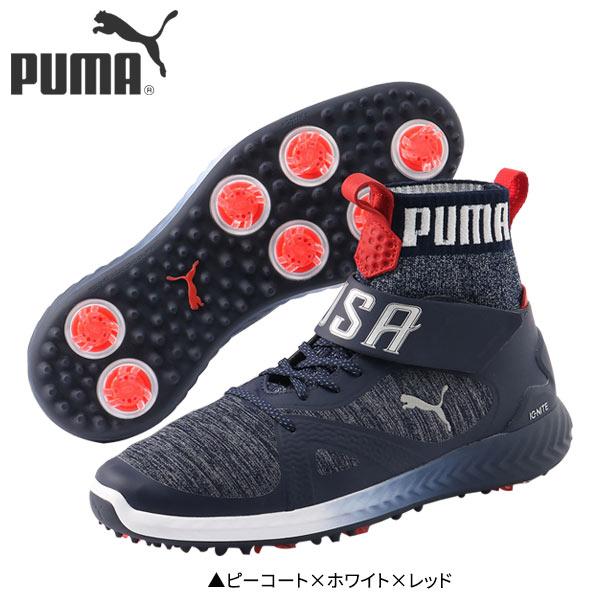 cb2ae53f13f2 プーマゴルフイグナイトパワーアダプトハイトップチーム USA 191563 golf shoes PUMA Ignite Power Adapter High  Top Team 29cm 29.0cm 30cm 30.0cm
