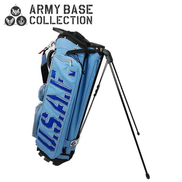 アーミーベースコレクション ゴルフ US エアフォース ABC-026SB スタンド キャディバッグ ARMY BASE ゴルフバッグ【アーミーベースコレクション】【キャディバッグ】