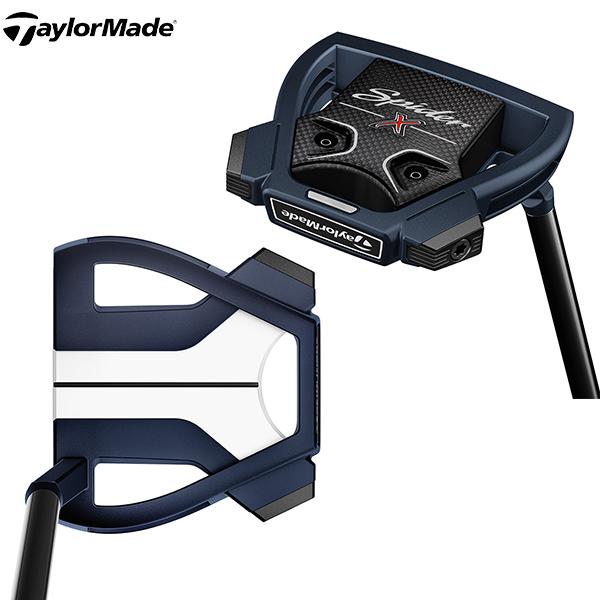 テーラーメイド ゴルフ スパイダーX ブルー/ホワイト スモールスラント パター TaylorMade SpiderX【テーラーメイド】【パター】