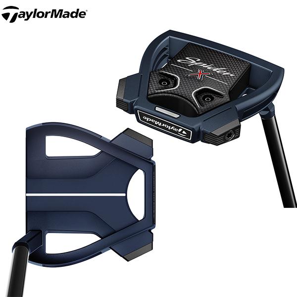 テーラーメイド ゴルフ スパイダーX スモールスラント パター ブルー TaylorMade SpiderX【テーラーメイド】【パター】【あす楽対応】