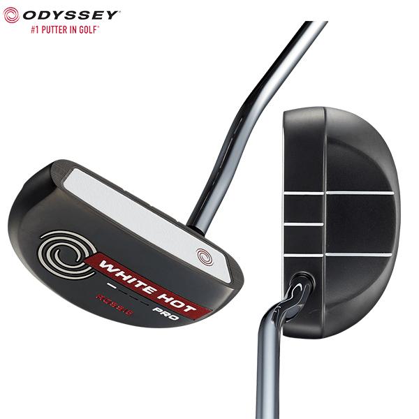 オデッセイ ゴルフ ホワイトホット プロ 2.0 ブラック ロッシー パター ODYSSEY WHITE HOT PRO 2.0 BLACK ROSSIE【オデッセイ】【パター】