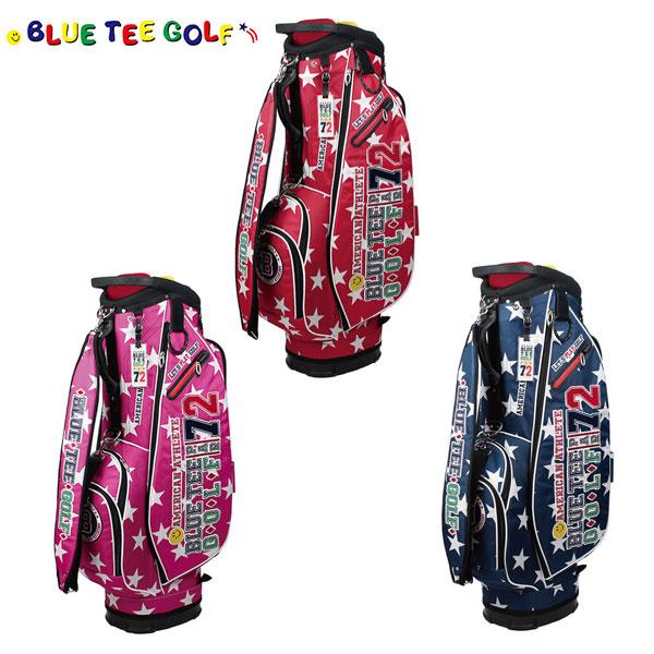 ブルーティー ゴルフ スターナイロン CB-006 カート キャディバッグ BLUE TEE GOLF ゴルフバッグ【ブルーティ】【キャディバッグ】