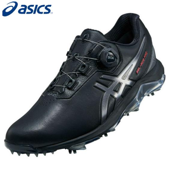 アシックス ゴルフ ゲルエース プロ 4 ボア 1113A002 GEL-ACE PRO 4 Boa ゴルフシューズ ブラック×カーボン(001)【アシックスゴルフシューズ】
