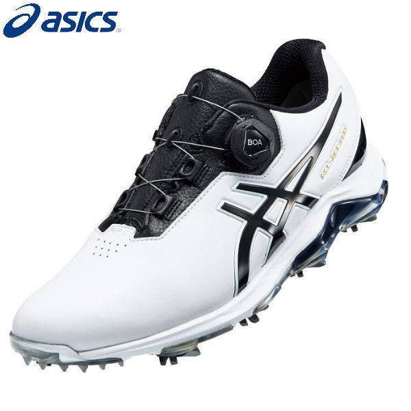 アシックス ゴルフ ゲルエース プロ 4 ボア 1113A002 GEL-ACE PRO 4 Boa ゴルフシューズ ホワイト×ブラック(100)【アシックスゴルフシューズ】