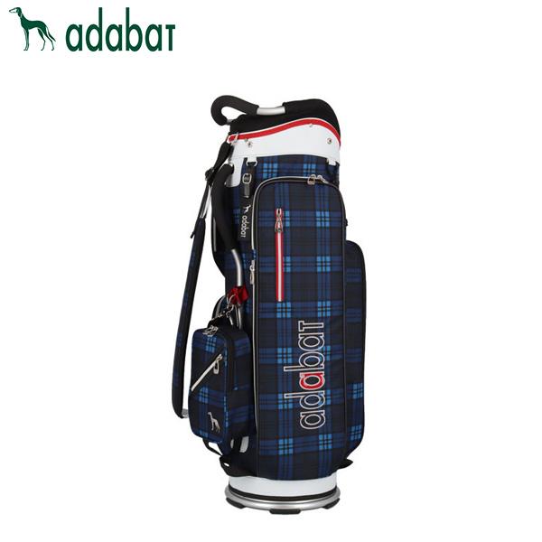 アダバット ゴルフ ABC309 カート キャディバッグ ネイビー/ブルー adabat ゴルフバッグ【アダバット】【キャディバッグ】