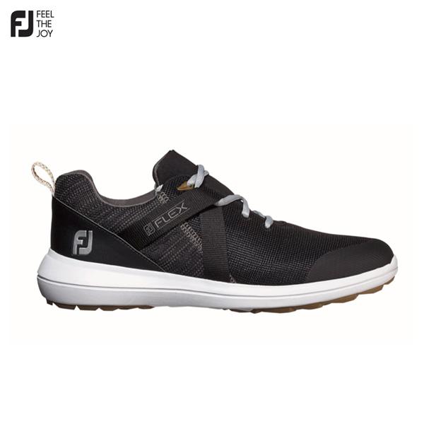 フットジョイ ゴルフ FJ フレックス 56103 スパイクレス ゴルフシューズ ブラック Footjoy FLEX【フットジョイ】【ゴルフシューズ】