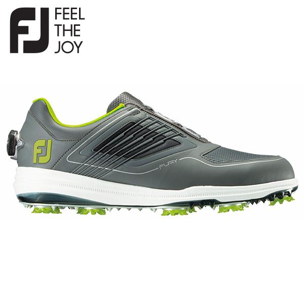 【送料無料】 フットジョイ ゴルフ FJ フーリー ボア 51109 ゴルフシューズ グレー×ライム FootJoy FURY BOA【フットジョイ】【ゴルフシューズ】