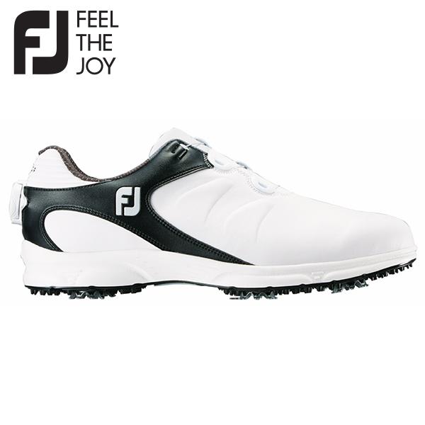 フットジョイ ゴルフ ARC XT BOA ボア 59755 ゴルフシューズ ホワイト×ブラック FOOTJOY【ゴルフシューズ】