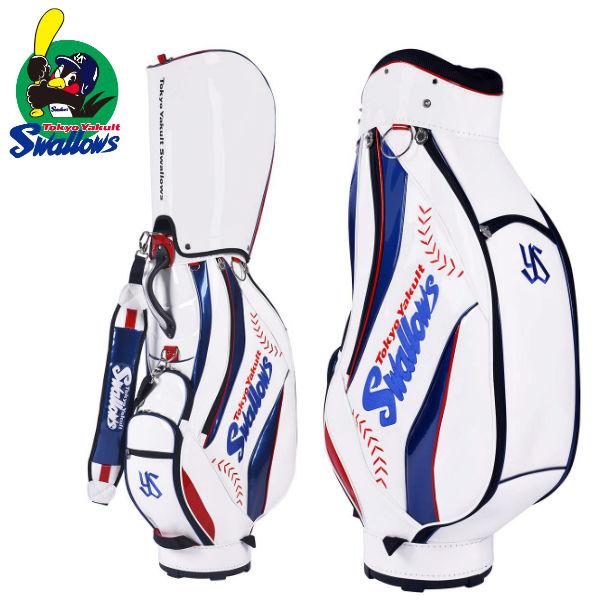 プロ野球 ゴルフ 東京ヤクルトスワローズ YSCB-9527 キャディバッグ オフィシャルグッズ Yakult Swallows【プロ野球 】【キャディバッグ】