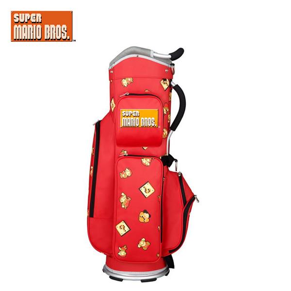 スーパーマリオブラザーズ SMBC002 カート キャディバッグ SUPER MARIO BROS. ゴルフバッグ【マリオ】【キャディバッグ】